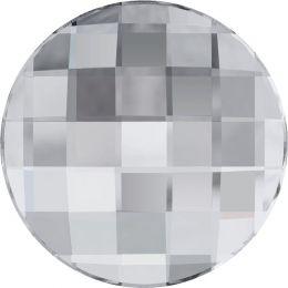 2035 Chessboard Circle Flat Back