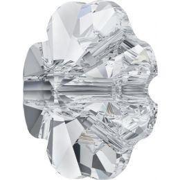 3011 Clover Crystal Button