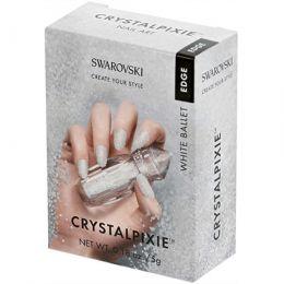 Swarovski® Crystal Pixie Edge WHITE BALLET 5g