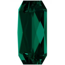 3252 Emerald Cut Sew-on Stone Emerald  (205) F