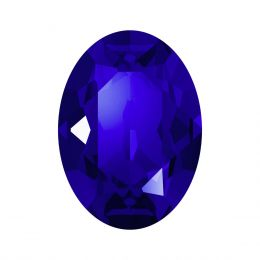4120 Oval Fancy stone 18.0X13.0 MM Majestic Blue F (296)