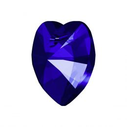 6228 XILION Heart Pendant 10.3X10.0 MM Majestic Blue F (296)
