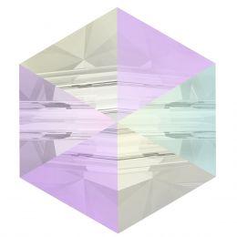 5060 Hexagon Spike 5.5 MM Crystal AB (001 AB)