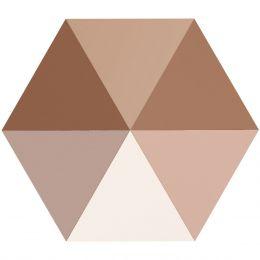 5060 Hexagon Spike 5.5 MM Crystal ROGL (001 ROGL)