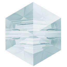5060 Hexagon Spike 5.5 MM Crystal BLSH (001 BLSH)