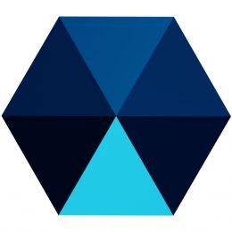 5060 Hexagon Spike 5.5 MM Crystal METBL (001 METBL)