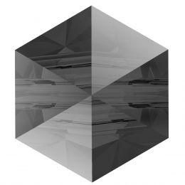 5060 Hexagon Spike 5.5 MM Crystal SINI (001 SINI)