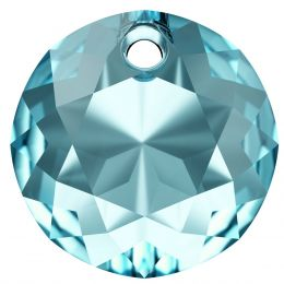 6430 CLassic Cut Pendant 10 MM Aquamarine  (202)