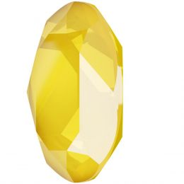 4120 Oval Fancy stone 14.0X10.0 MM Crystal Buttercup (001 L124S)
