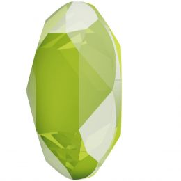4120 Oval Fancy stone Crystal Lime (001 L125S)