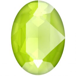 4120 Oval Fancy stone 18.0X13.0 MM Crystal Lime (001 L125S)