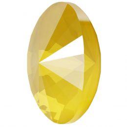 4122 Oval Rivoli Fancy Stone Crystal Buttercup (001 L124S)