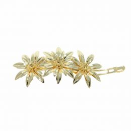 ss19 Chaton Flowers Hair Barret - Pack of 5