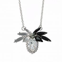 Semi finished Thorns Necklace with Swarovski Crystals Tennis Chain - Pack of 2